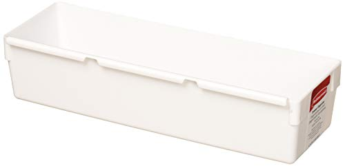 "Rubbermaid 9 by 3 by 2-Inch Drawer Organizer, White (Pack of 12), 9""x3"""