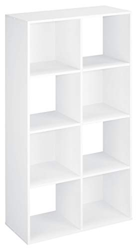 ClosetMaid 420 Cubeicals Organizer, 8-Cube, White