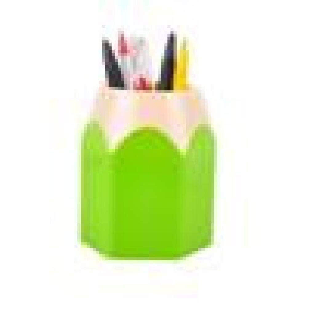 Clearance Deal! Hot Sale! Pen Holder Storage, Fitfulvan Makeup Brush Vase Pencil Pot Pen Holder Stationery Storage (Green)