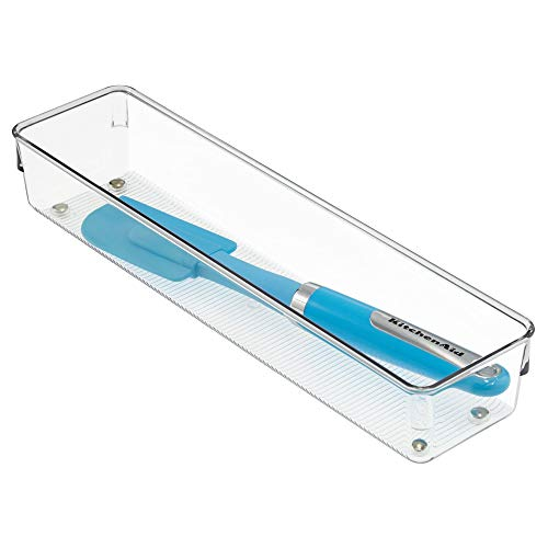 INTERDESIGN 52530 Linus Organizer, 3.2 by 12.8-Inch, Clear