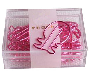 20 Pieces Cute Paper Clips Creative Paper Clip, Pineapple Shape-1