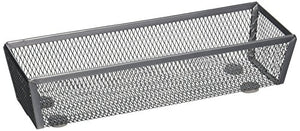 Honey-Can-Do KCH-02160 Steel Mesh Drawer Organizer, Silver, 12-Inch by 3-Inch