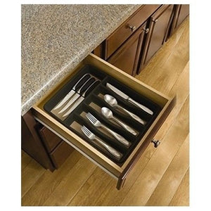 Flatware Cutlery Tray Storage Organizer Drawer Kitchen Silverware Holder Utensil