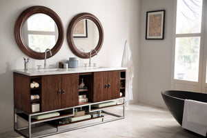 "Sonoran 72"" Double Vanity, Coffee Oak"