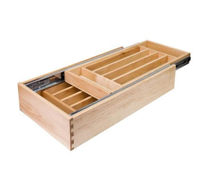 "18"" Double Cutlery Drawer"