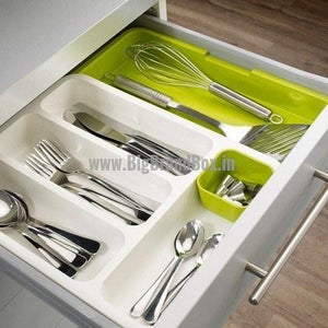 Adjustable and Expandable Tray Drawer Organizers