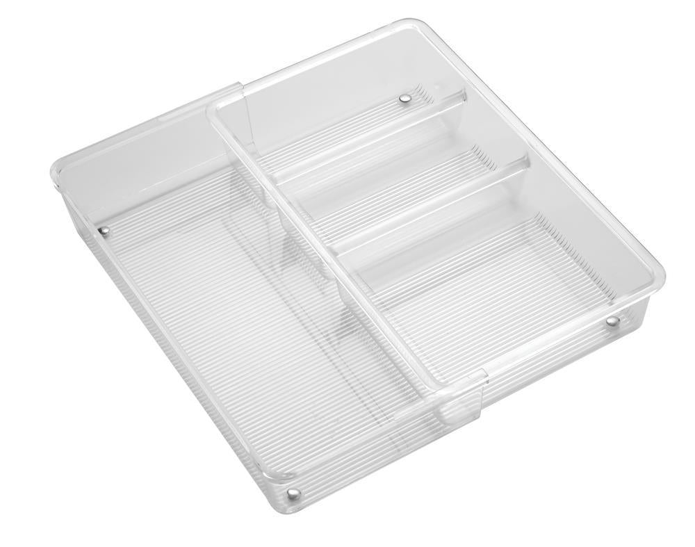 InterDesign Linus Expandable Drawer Organizer