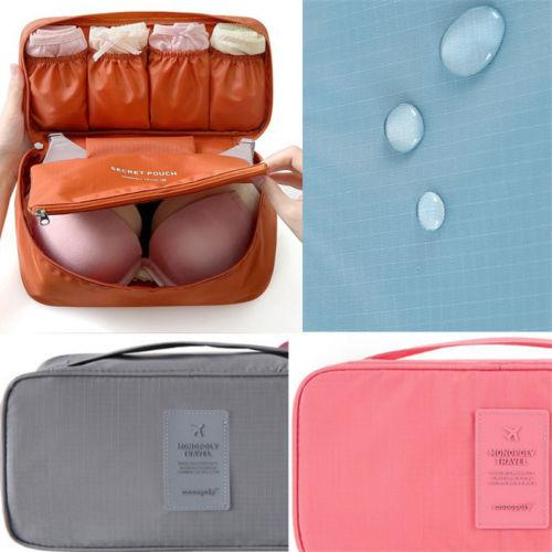 Creative Travel Underwear Bra Bag Cosmetic Makeup  Drawer Organizers