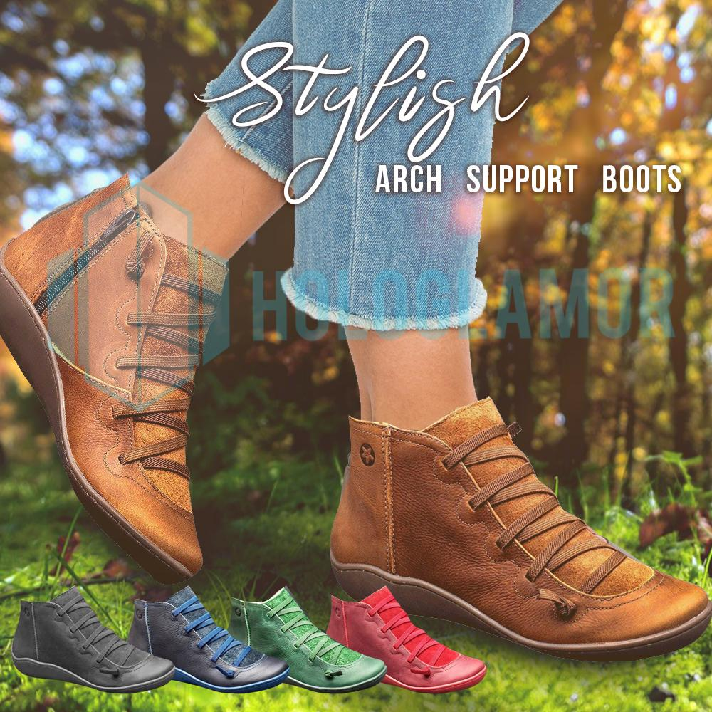 Stylish Arch Support Boots