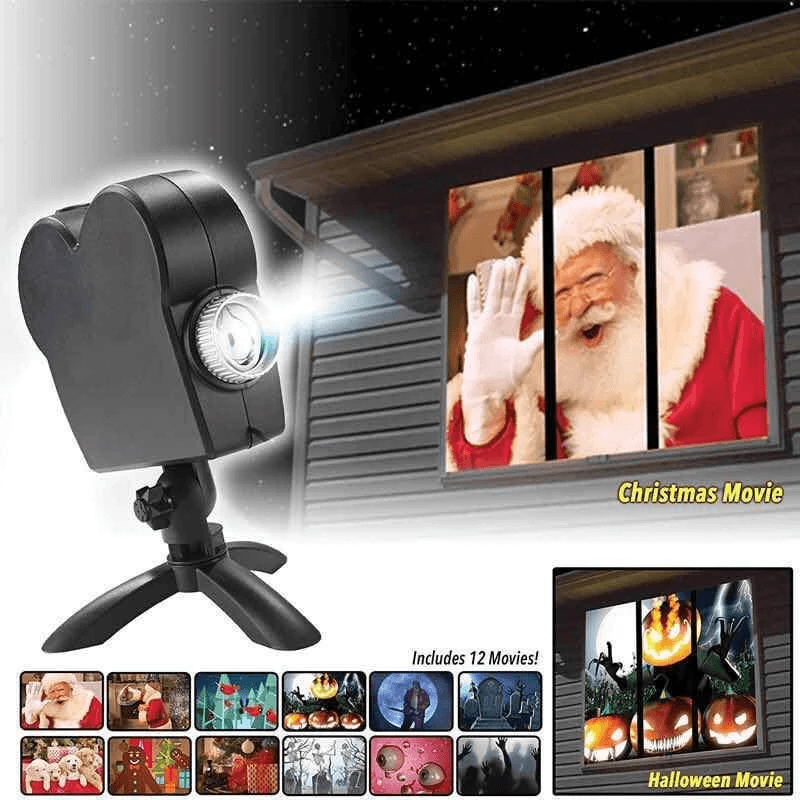 Digital Decor Projector for Halloween and Christmas