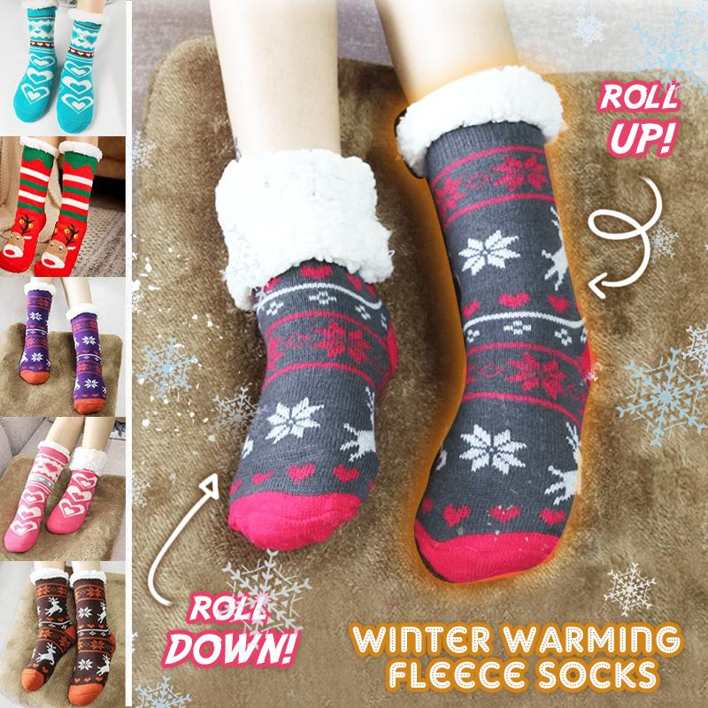 Winter Warming Fleece Socks