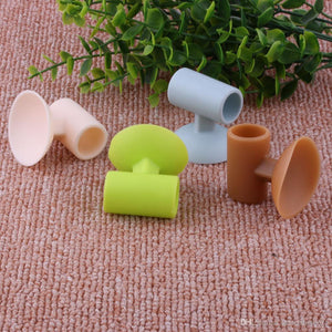 Noise Free, Anti-collision Silicone Door Stopper (4 pcs set)