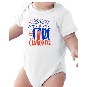 Infant Little Firecracker Onesie