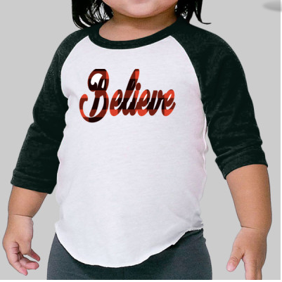 Infant Believe Raglan