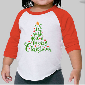 Infant Christmas Tree Raglan