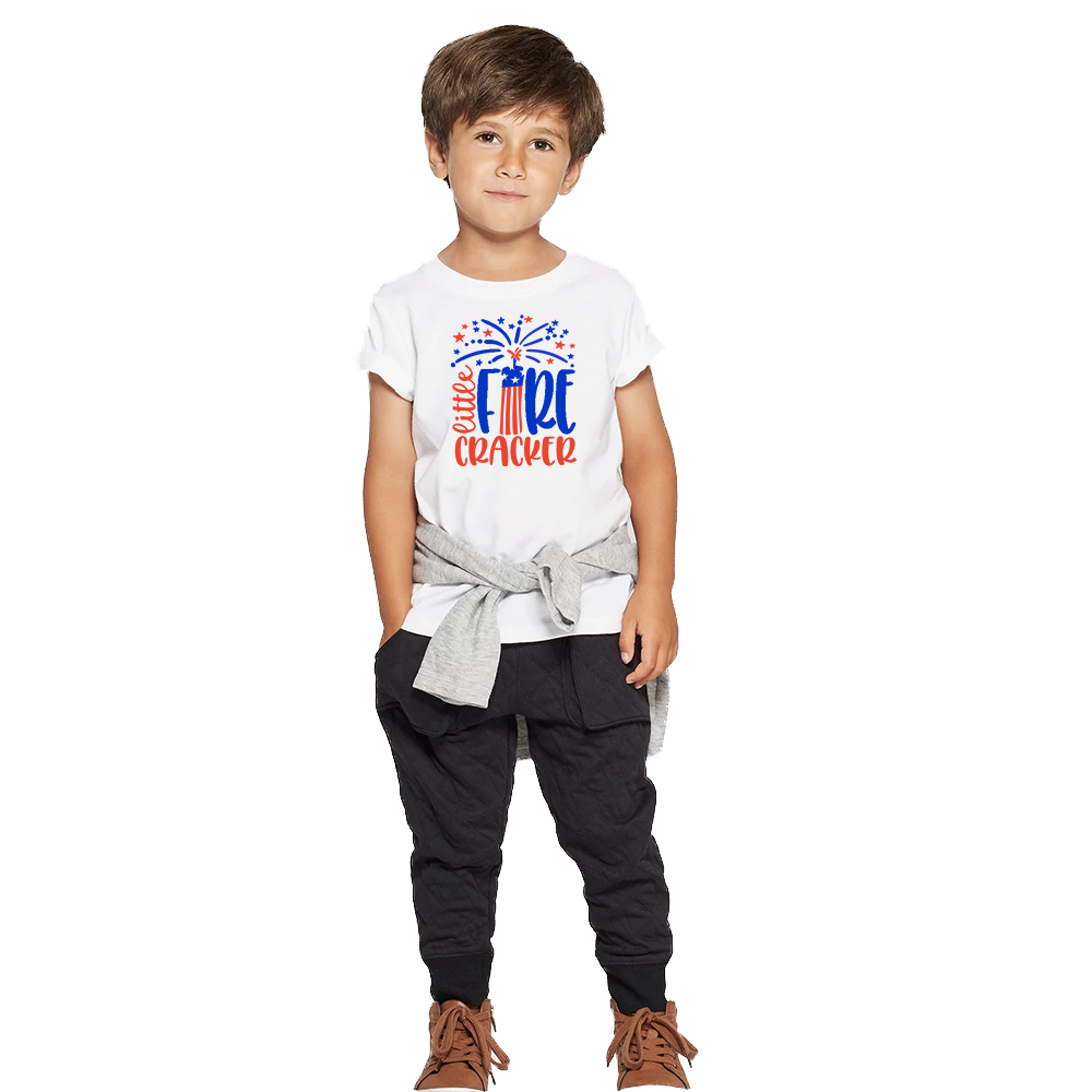 Toddler Little Firecracker T-Shirt