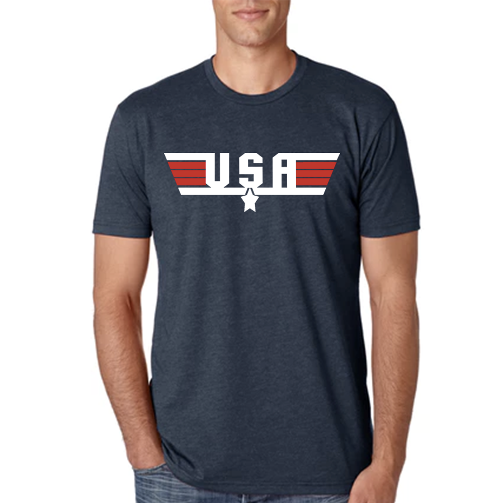Men's USA Triblend Crew