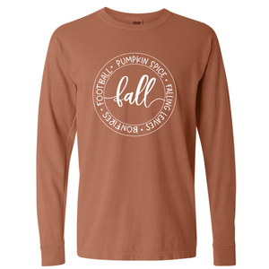 Unisex Fall Favorite's Long Sleeve T-Shirt