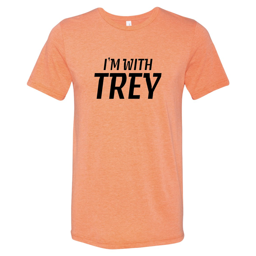 Unisex Triblend I'm With Trey Orange T-Shirt
