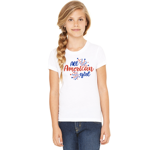 Youth All American Girl T-Shirt