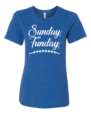 Women's Sunday Funday Relaxed Fit T-Shirt