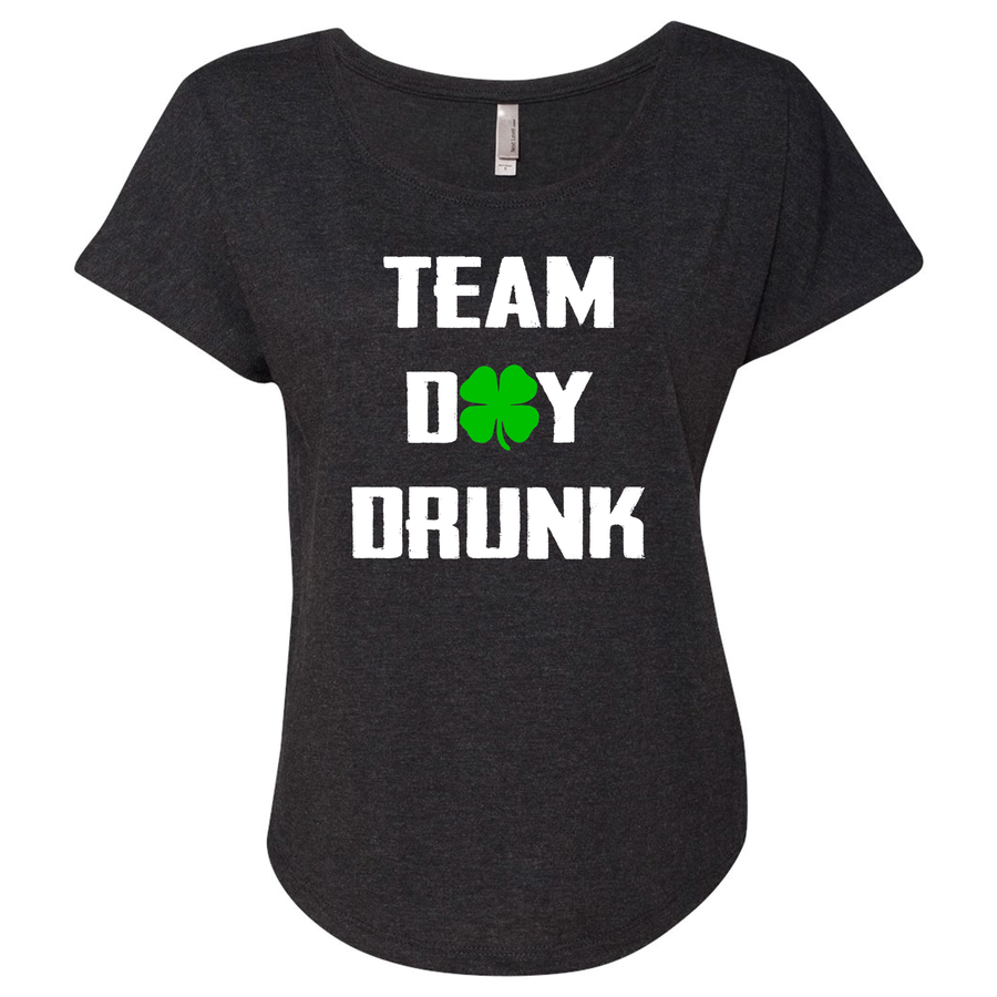Women's Triblend Team Day Drunk Dolman