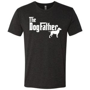Men's Triblend Dogfather T-Shirt
