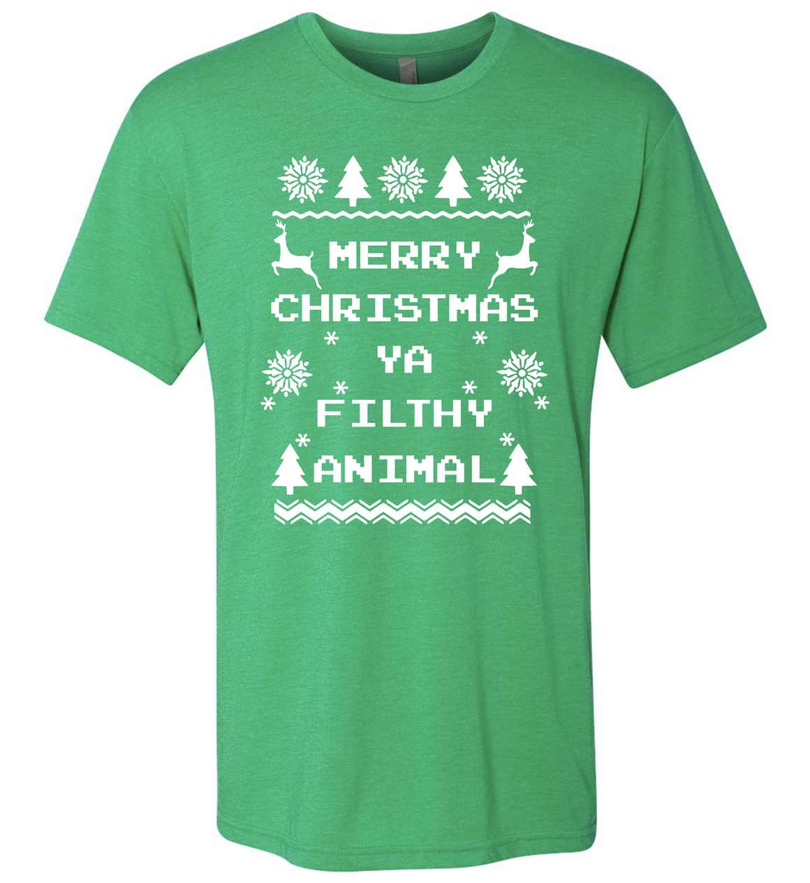 Men's Filthy Animal Green Triblend T-Shirt
