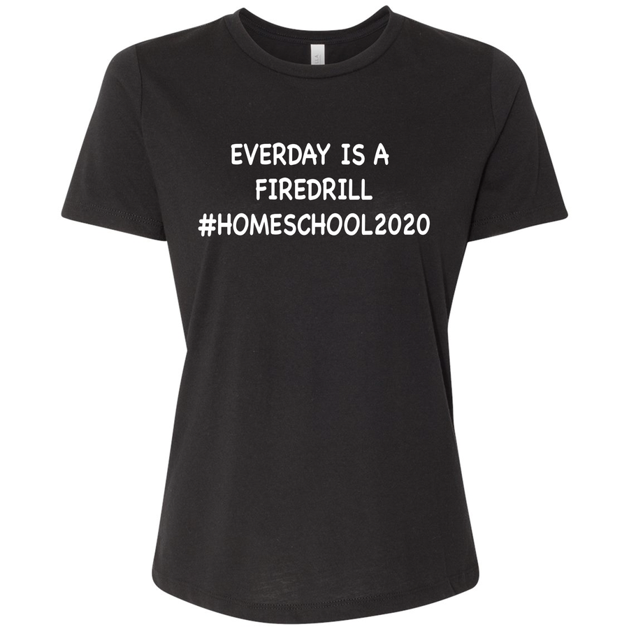 Women's Relaxed Fit #Homeschool2020 T-Shirt