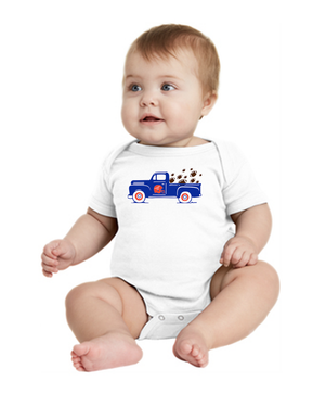 Infant Football Truck Onesie
