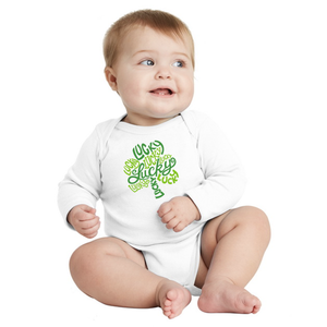 Infant Lucky Shamrock Onesie