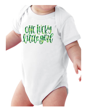 Infant Lucky Little Girl Onesie