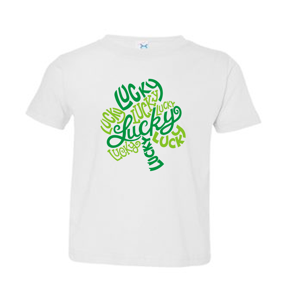 Toddler Lucky Shamrock T-Shirt