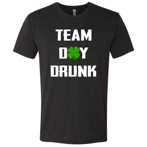 Men's Triblend Team Day Drunk Crew T-Shirt