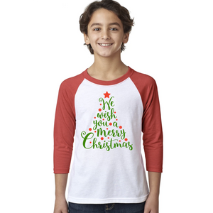 Toddler Christmas Tree Raglan