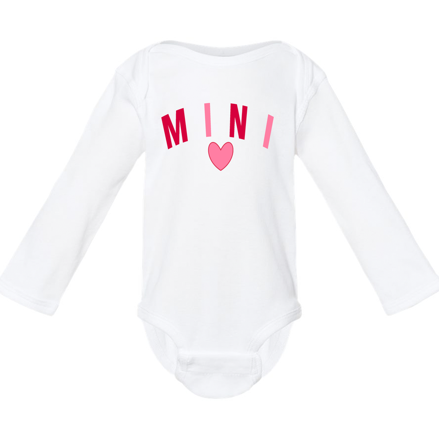 "Kid's ""Mini"" Long Sleeve T-Shirt ( Infant, Toddler, and Youth)"