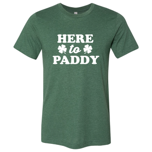 Unisex Here to Paddy Crew