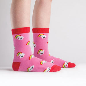 Toddler Rainbow Crew Socks