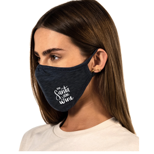 Dear Santa Bring Wine Mask