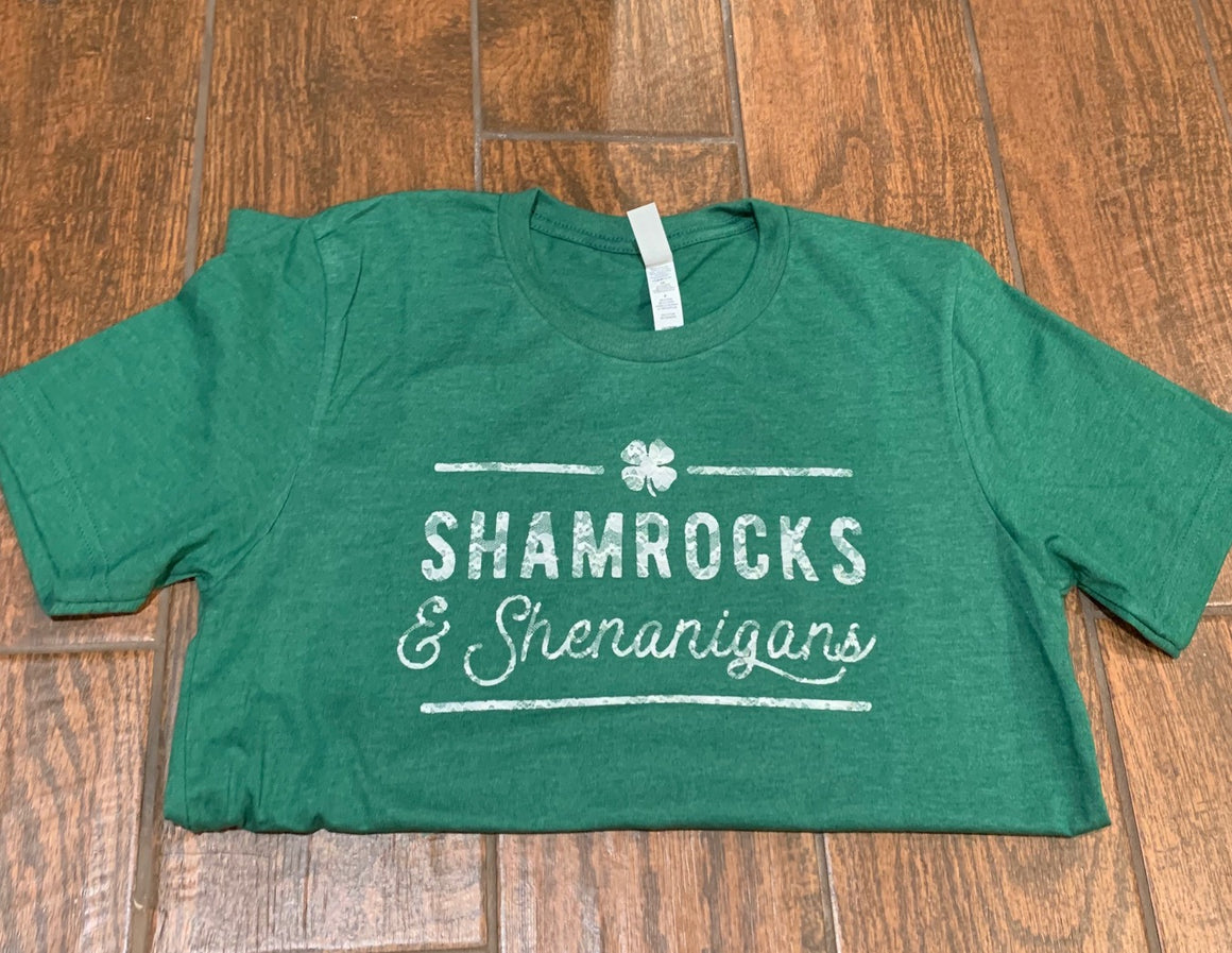Shamrocks & Shenanigans Lace Women's Crew - LIMITED EDITION