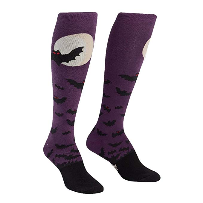 Funky Batnado Knee High Socks