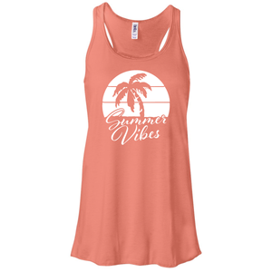 Women's Summer Vibes Racerback Tank Top