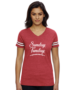 Women's Sunday Funday Jersey Women's T-Shirt