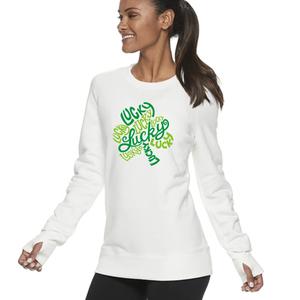 Women's Lucky Shamrock Sweatshirt