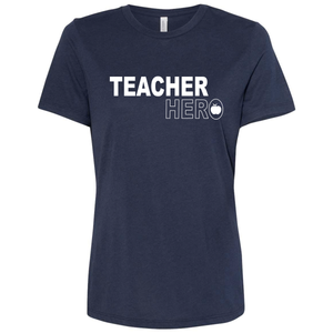 Women's Relaxed Fit Triblend Teacher Hero T-Shirt