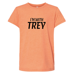 Youth Triblend I'm With Trey Orange T-Shirt