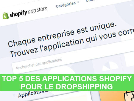 5 applications shopify dropshippping