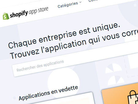 Meilleures applications de dropshipping sur Shopify