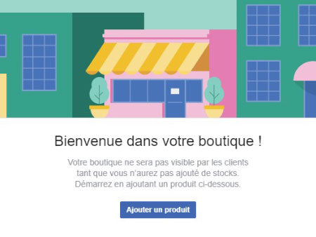 comment creer boutique facebook