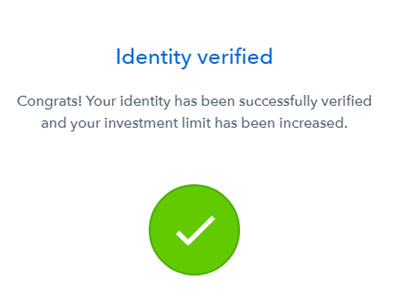 validation compte coinbase